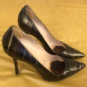 Manolo Blahnik Leather Stiletto Heels Pumps shoes